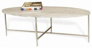 greenwich gray marble silver oval cocktail table With gray oval coffee table