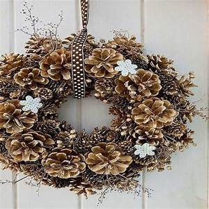Que Faire Avec Des Pommes De Pin Pour Noel : 25 d co no l fabriquer en famille deco cool ~ Voncanada.com Idées de Décoration