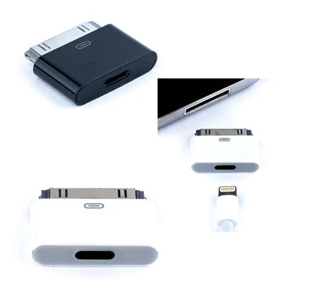 iphone to new iphone adapter 8pin lightning compatible to 30pin adapter for