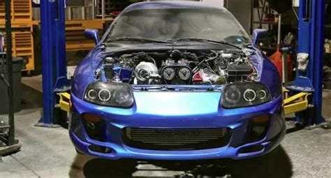 cheap  hp toyota supra project  sale autoevolution