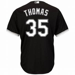 Majestic Jersey Size Chart Majestic Men 39 S Chicago White Sox Frank Thomas 35 Cool