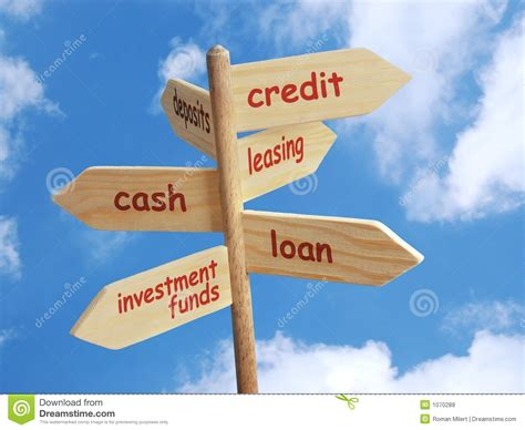 Business Financial Options Stock Photo. Image Of Direction