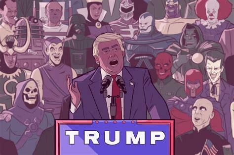 trump villain villains super evil cartoon byrne stephen funny