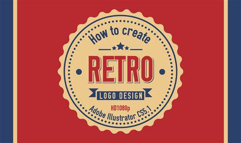 How To Create Retro Logo Design In Adobe Illustrator Cs5