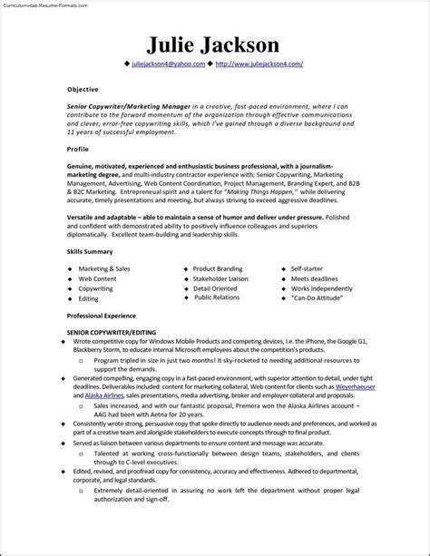 16908 monstercom resume templates resume template free sles exles format