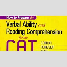 Verbal Ability & Reading Comprehension Iascglcom