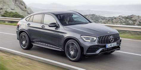 mercedes amg glc suv  coupe   power