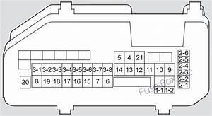 Acura Tsx  Cu2  2011  2012  2013  2014  Fuse Box Diagram