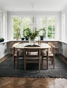 La plus originale table de cuisine ronde en 56 photos for Salle À manger contemporaine avec salle a manger bois massif pas cher
