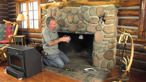 install   chimney liner  youtube