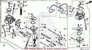 Honda Cmx450c Rebel 1987  H  Italy    Kph Carburetor
