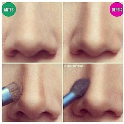 perfect nose shape  makeup pretty designs