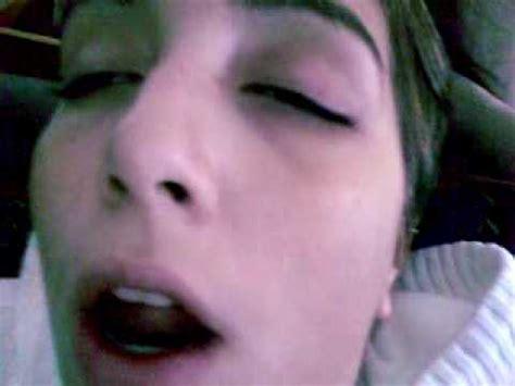 danielle ridlon sleep  eyes open  snoring