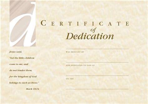 cct dedication certificate envelope babies