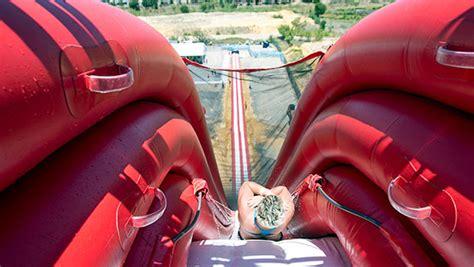 enormous inflatable drop water   australia