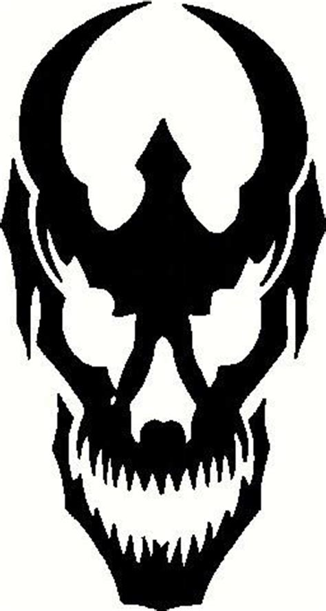devil skull die cut vinyl sticker decal sticky addiction