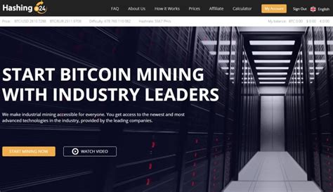 trusted bitcoin mining hashing24 review trusted and reliable bitcoin cloud
