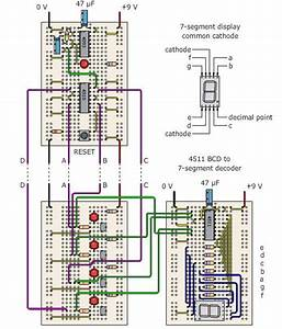 Master  Seven Segment Circuit