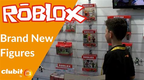 First Look At Roblox Figures Brand New 2017  Youtube