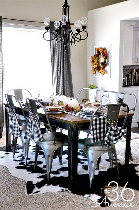 Fall Decor  Dining Room  The 36th Avenue