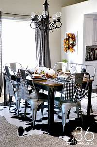dining room decor Fall Decor - Dining Room - The 36th AVENUE