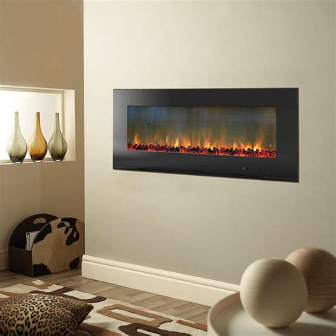 cambridge metropolitan   wall mount electic fireplace
