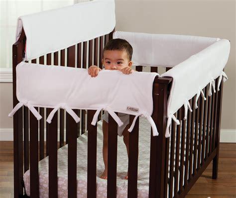 crib rail guard trend lab crib wrap rail guard set of two rail