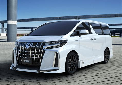 Toyota Vellfire 4k Wallpapers by Formacar Trd Releases Tuning Kits For Toyota Alphard And
