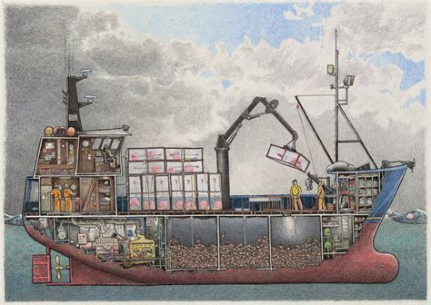 How To Work On A Crab Boat by This Crabber Is A Composite Of Several House Aft Bering