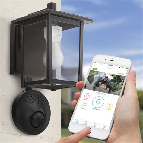 security light and camera light socket powered wi fi security camera the green head