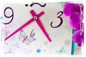 Uhrwerk Zum Basteln : fr hlings zauber uhr basteln kreativzauber bastelblog mit vielen vorlagen anleitungen und ~ Eleganceandgraceweddings.com Haus und Dekorationen