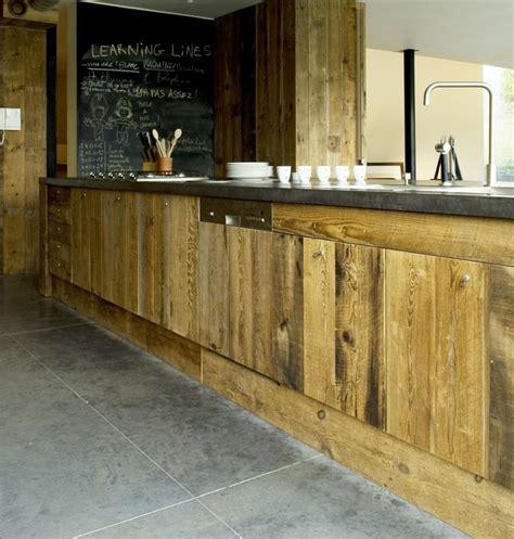 facade cuisine bois brut 17 meilleures idées à propos de intérieur de boulangerie