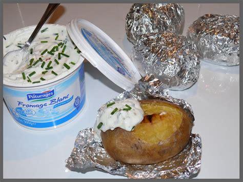 pommes de terre au four et sa sauce ciboulette la