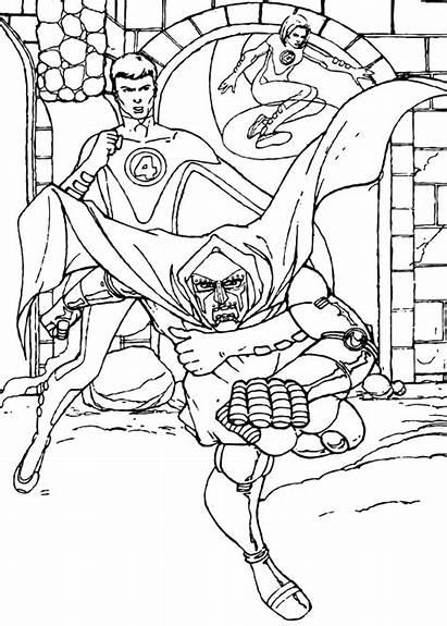 Doom Doctor Coloring End Pages Hellokids Fantastic