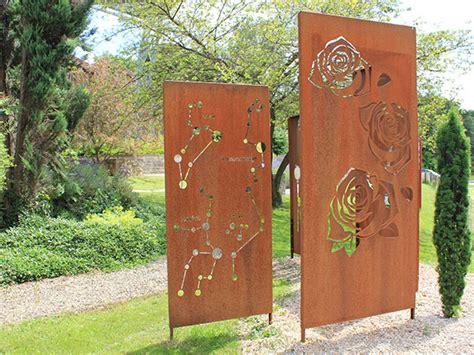 Sichtschutz Garten Aus Cortenstahl by Corten Stahl Sichtschutz W 228 Nde Aus Corten Stahl