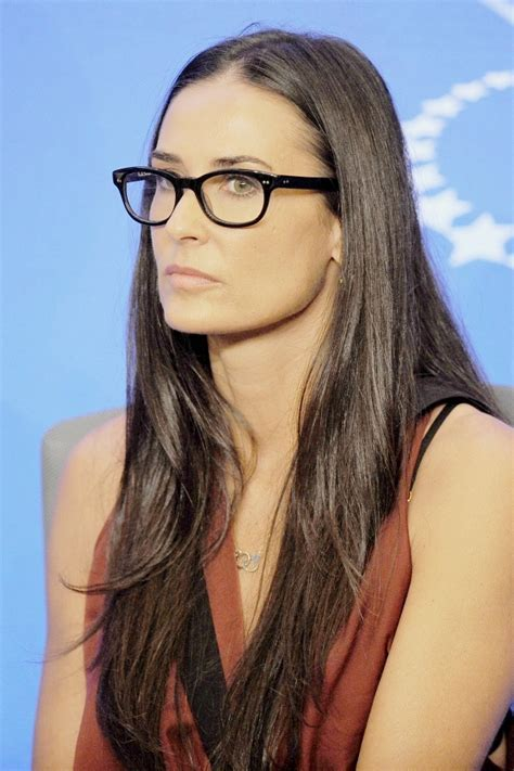 glasses demi moore   Romantique and Rebel