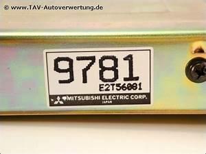 Engine Control Unit Mitsubishi Md159781 E2t56081 9781 Colt Lancer  123 00