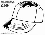 Coloring Pages Baseball Hat Cap Boys Printable Mlb Colouring Letter Hats Colour Caps Bubble Clothing Players Sports Getcoloringpages Bats Softball sketch template