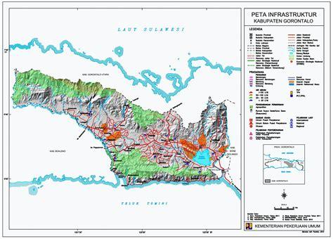 peta kota peta kabupaten gorontalo
