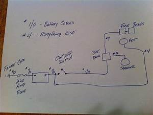 Here U0026 39 S A Diagram For Battery Relocation - Ls1tech