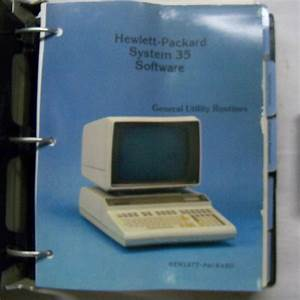Hewlett Packard Model 6490a Tape Control And Drive Service