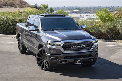 Shaquille O'neal Tunes His 2019 Ram 1500 With Forgiato