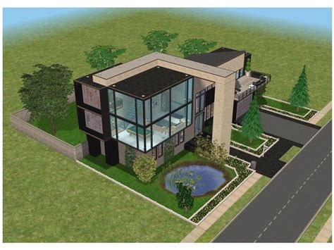 Sims 3 House Floor Plans Modern by 17 Best Images About Sims 3 On House Design