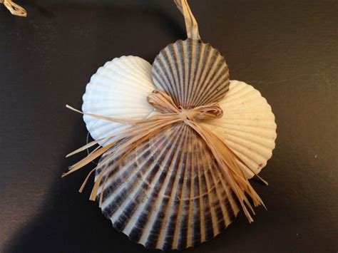 christmas crafts with shells seashell ornament and ornament