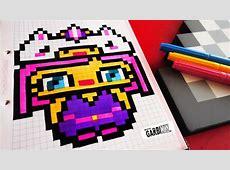 Handmade Pixel Art How To Draw Kawaii Unicorn Girl #
