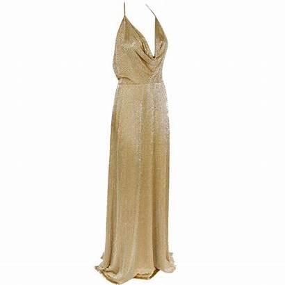Gold Gucci Beaded Silk Goddess Fully 1stdibs