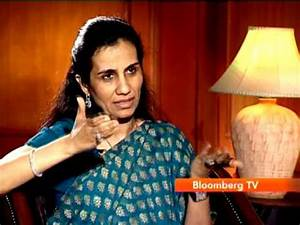Bloomberg TV Exclusive: Interview Of Chanda Kochhar, MD ...