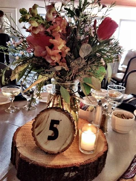 wood   base   smaller    table number