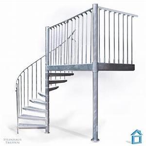 Bodenbeläge Balkon Außen : wendeltreppe aussen bausatz inklusive balkon aus stahl 80 x 216 cm steinhaus treppen treppen ~ Sanjose-hotels-ca.com Haus und Dekorationen