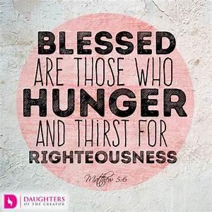 Spiritual Hunger Pangs - Daughters of the Creator
